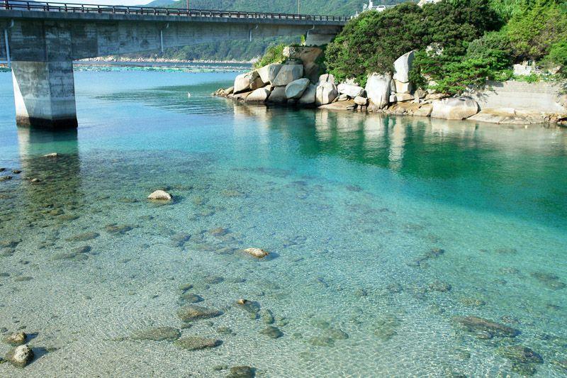 まるで沖縄のような青い海!高知西部にある「柏島」