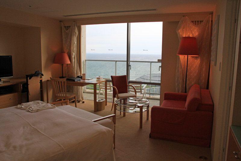 ウェスティンホテル淡路は全室広々かつオーシャンビュー