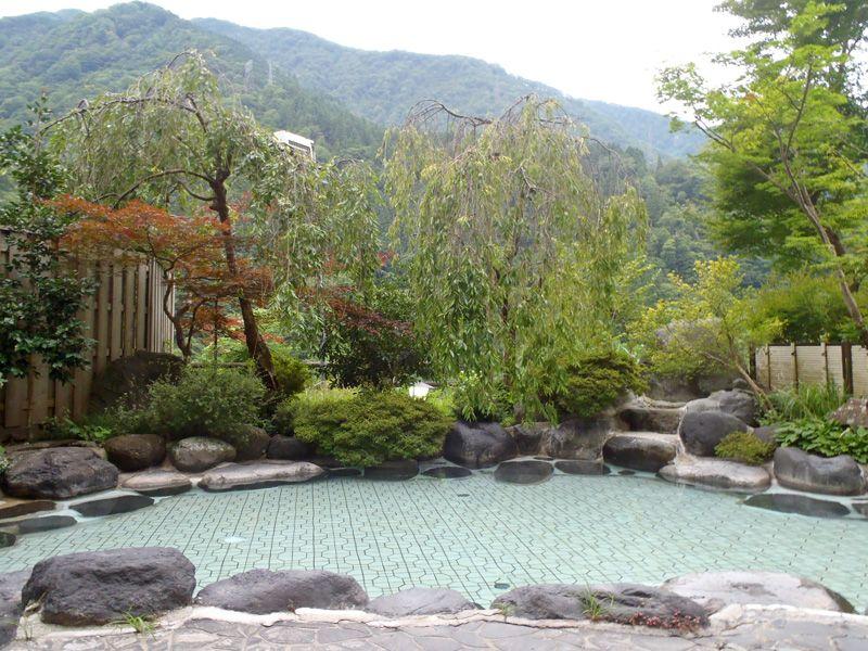 黒部渓谷を望む宇奈月温泉を代表する自慢の絶景露天風呂!