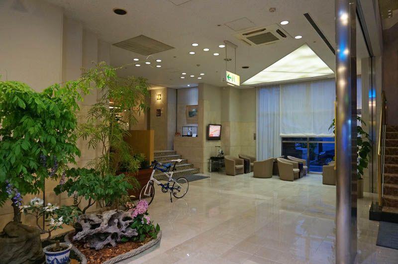 自転車で泊まれてしまう!尾道最大のシティホテル
