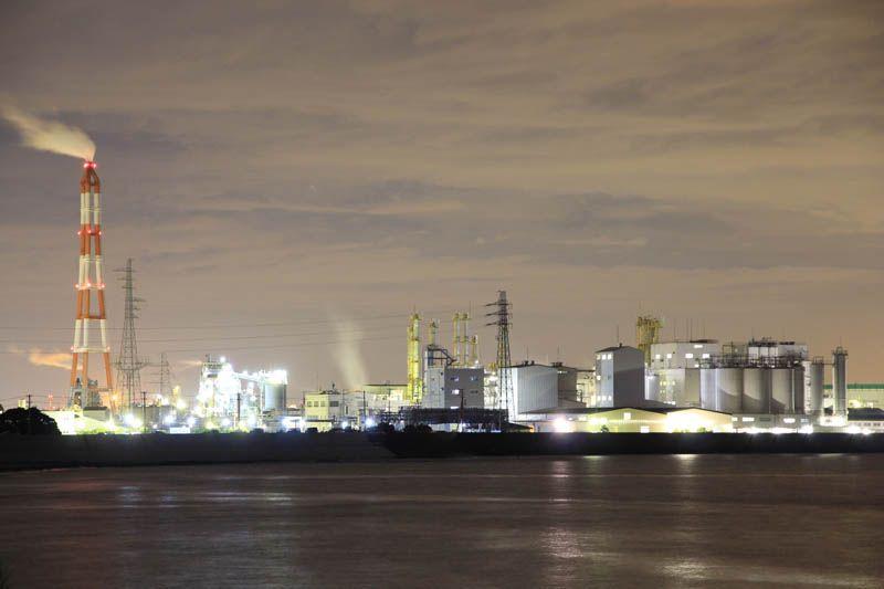 臨海工業地帯も見応えあり!