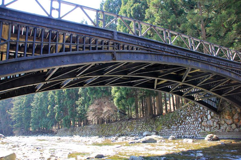 4.神子畑鋳鉄橋(みこはたちゅうてつきょう)