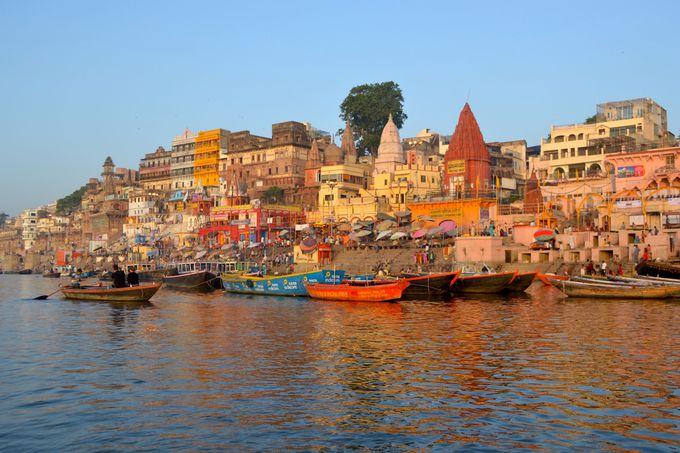 バラナシ(ワラーナシー)は、ヒンドゥー教の一大聖地