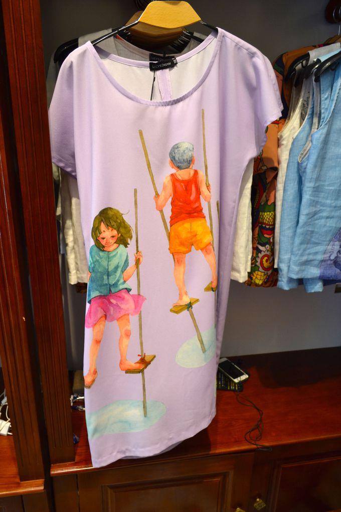 100%シルクの服を販売する「Lucy's dream」