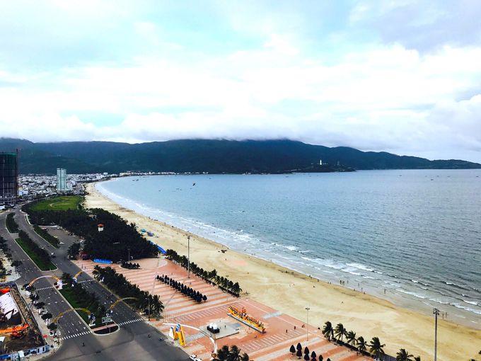 「Be Anh」があるのは、ミーケビーチから徒歩1分の場所!