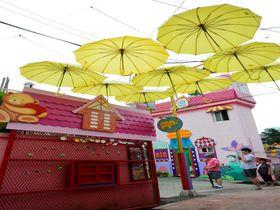 韓国・仁川の松月洞童話村で童心に返って楽しんでみる!