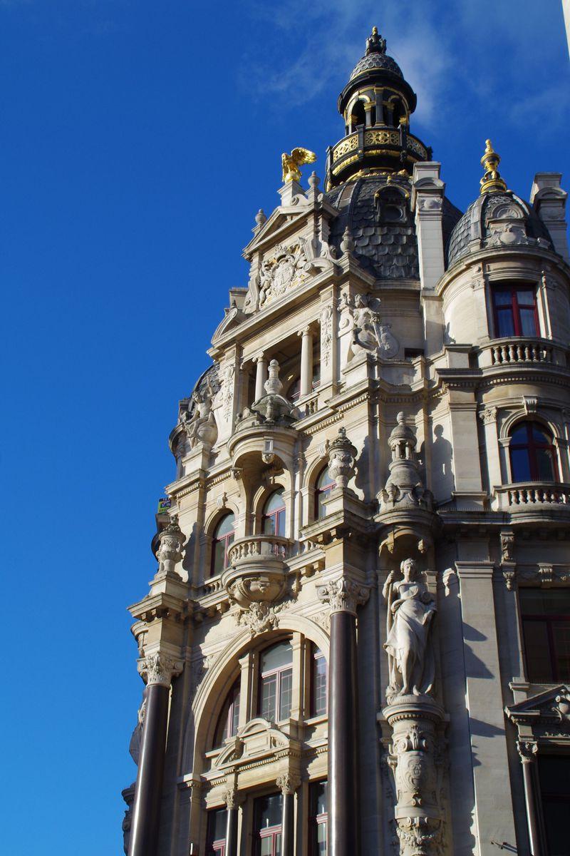 アールヌーヴォー発祥の地!ベルギーのアントワープで建築美に酔いしれる
