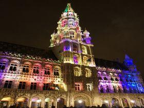 ライトアップで煌めく冬のベルギー・ブリュッセルへ☆