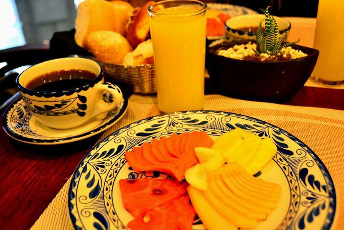 朝食はビュッフェではなくオーダー式