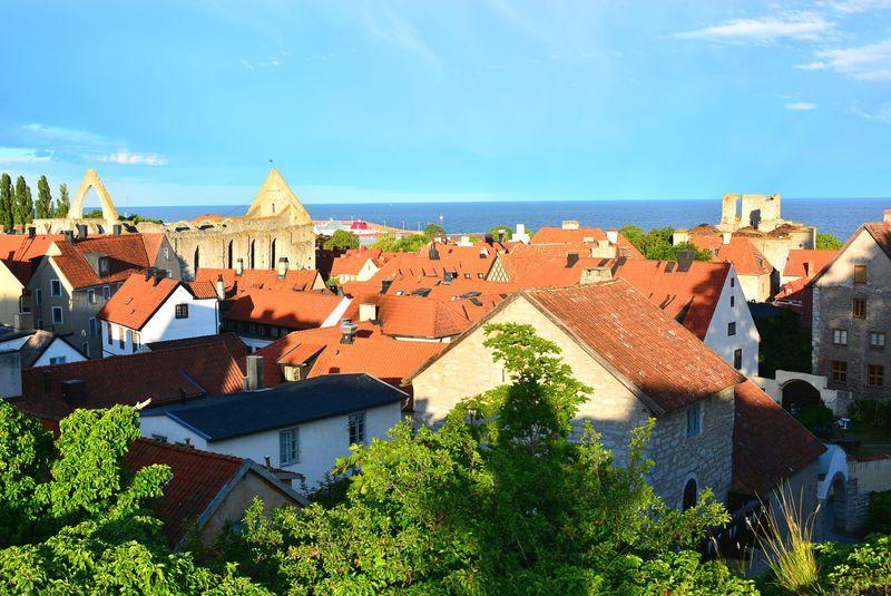 スウェーデンの世界遺産都市ヴィスビーはメルヘンで出来ている!?