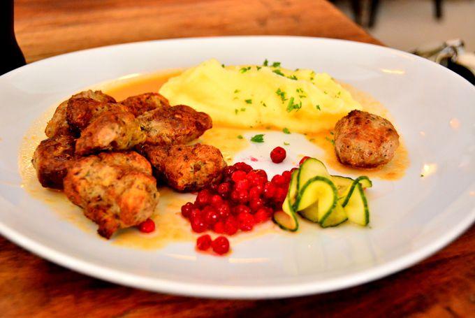 スウェーデンの国民食ミートボールが美味な「Meatballs for the people」