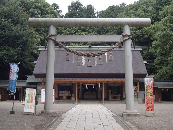 黄門様でパワーチャージ!あの水戸黄門が祀られる神社「常磐神社」