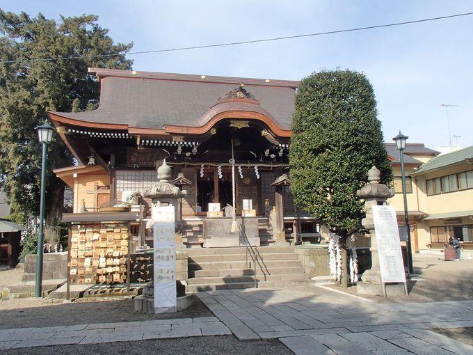 1200年余の神社と結城家の氏神が合わさったのが健田須賀神社!