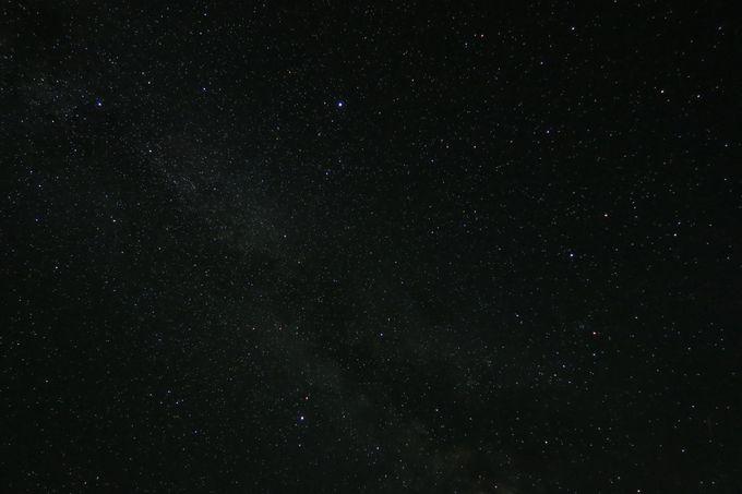 夜は星空が見もの