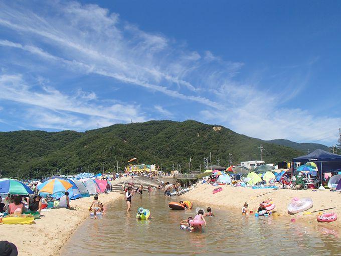 一番人気は水晶浜、でも穴場はダイヤ浜!