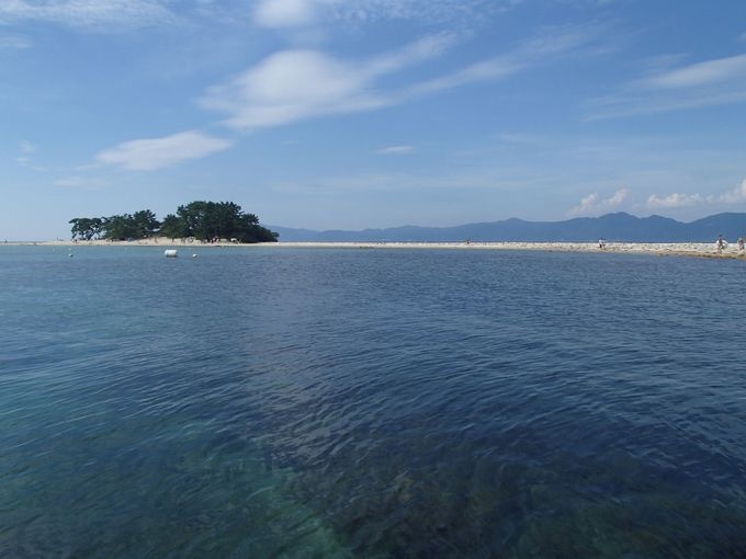 まるで南国!無人島ビーチが北陸にあった!