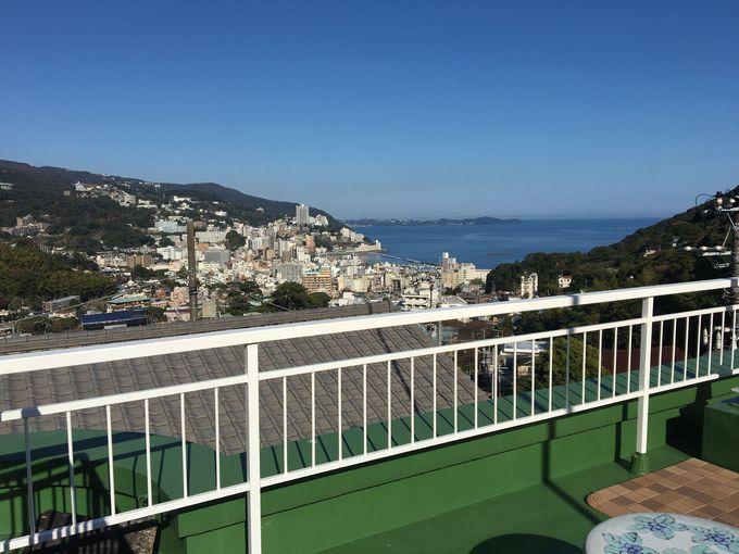 屋上からの眺望が最高!宿泊可能なクラブハウス