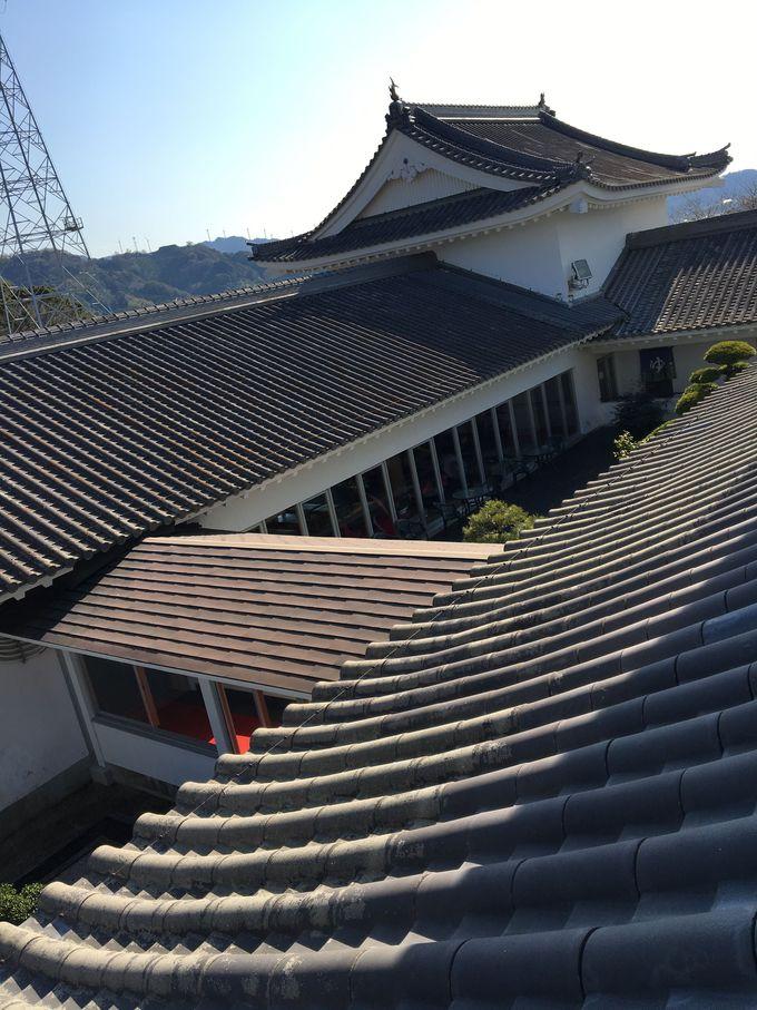 日本の文化を感じる天守閣の宿