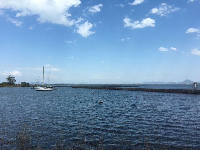 琵琶湖に臨む雄琴温泉にある関西最大級のスパリゾート