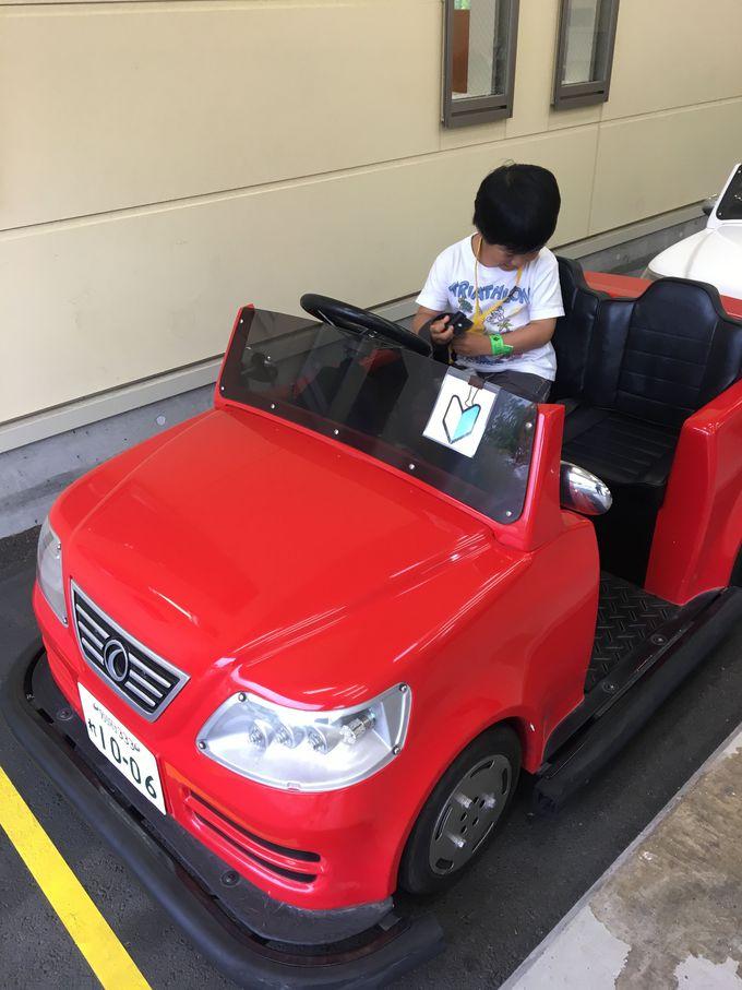 大人もビックリ!本格的な子ども専用自動車学校