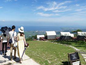 絶景カフェ&ランプ入りパフェ!びわ湖箱館山にインスタ映え必至スポットが登場