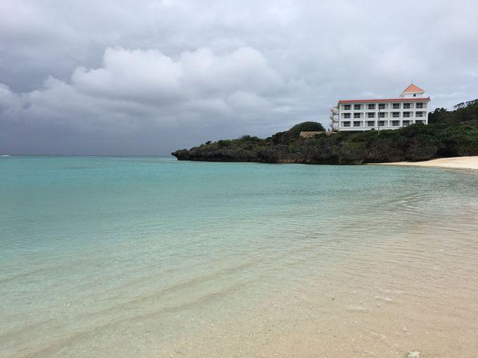 2、子連れに向くビーチで楽しむ!おすすめは「プリシアリゾートヨロン」