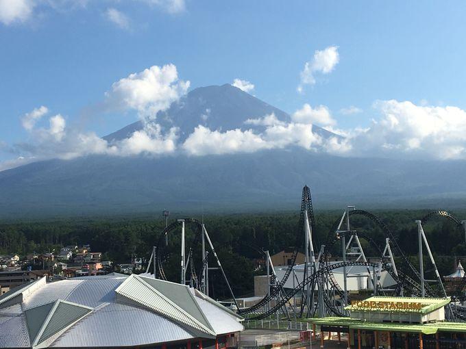 観覧車から富士山を見よう!