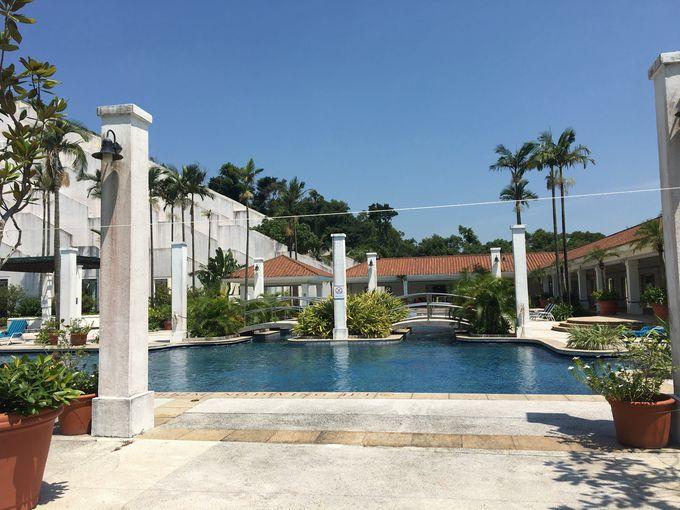 ビーチに隣接したキッズクラブもあるグランド・コロアン・リゾート