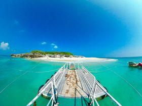 「コマカ無人島」浅瀬で熱帯魚と遊べる沖縄本島の穴場ビーチ