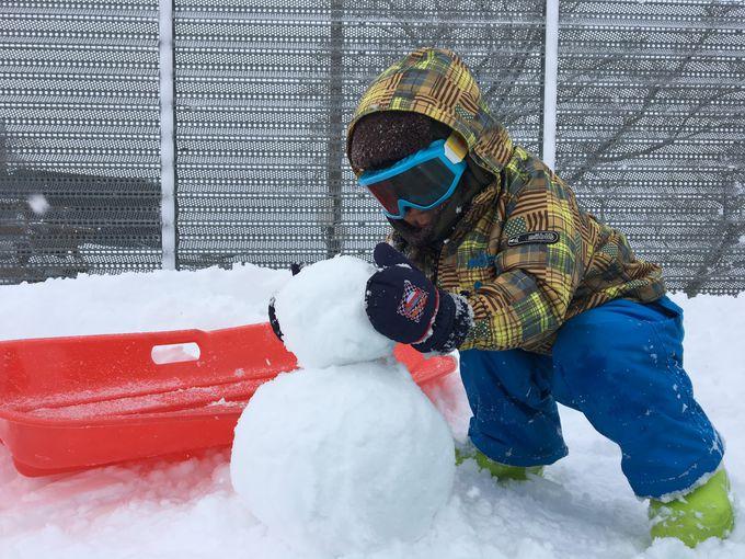 ウインターシーズンはスキーリゾートに