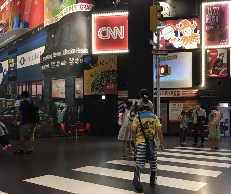 アメリカ旅行気分になれる!大阪イングリッシュビレッジ