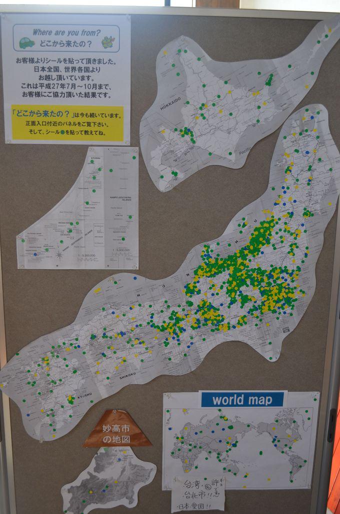 内陸と日本海を結び、世界各地からも訪れる道の駅