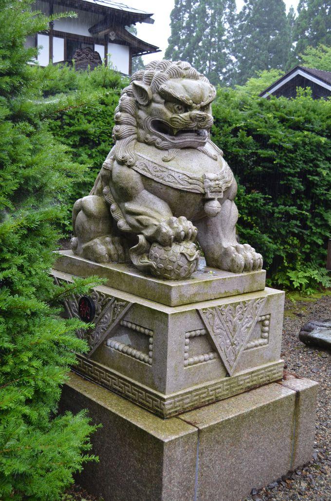 参道を楽しむ〜狛犬、石灯篭〜