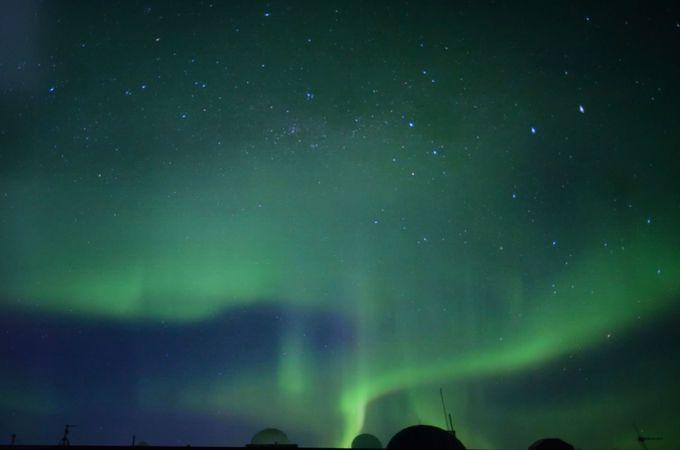 極地のオーロラを見る!