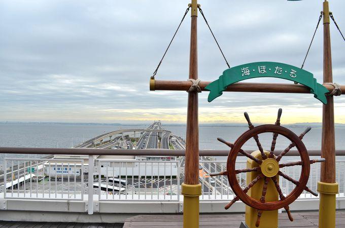 東京湾が一望できる島〜撮影スポットも多数〜