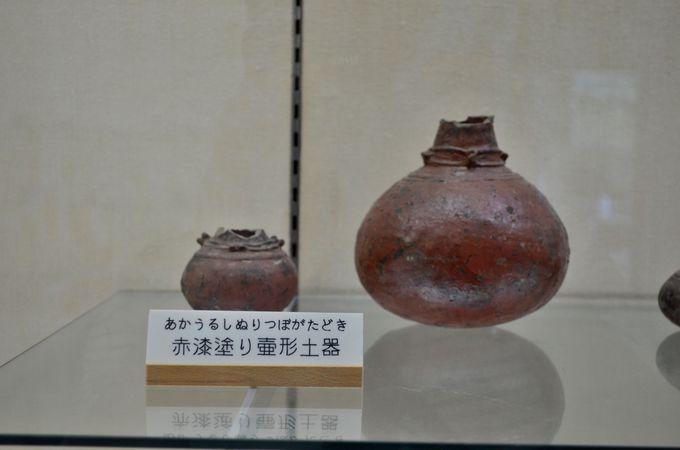 縄文館〜近くの住人が保存していた土器を展示〜