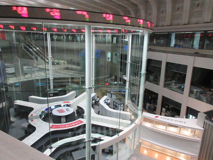 日本の金融取引の中心施設〜日本証券取引所
