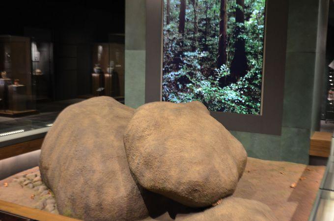 祭祀に焦点を当てた神道展示