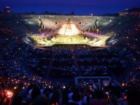 世界遺産の街・伊ヴェローナで体験!世界最大級の野外オペラ