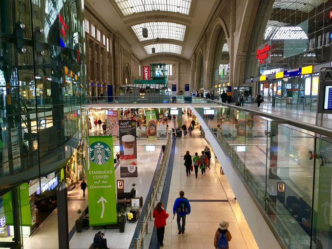 充実の駅ナカショッピング「中央駅プロメナーデン」