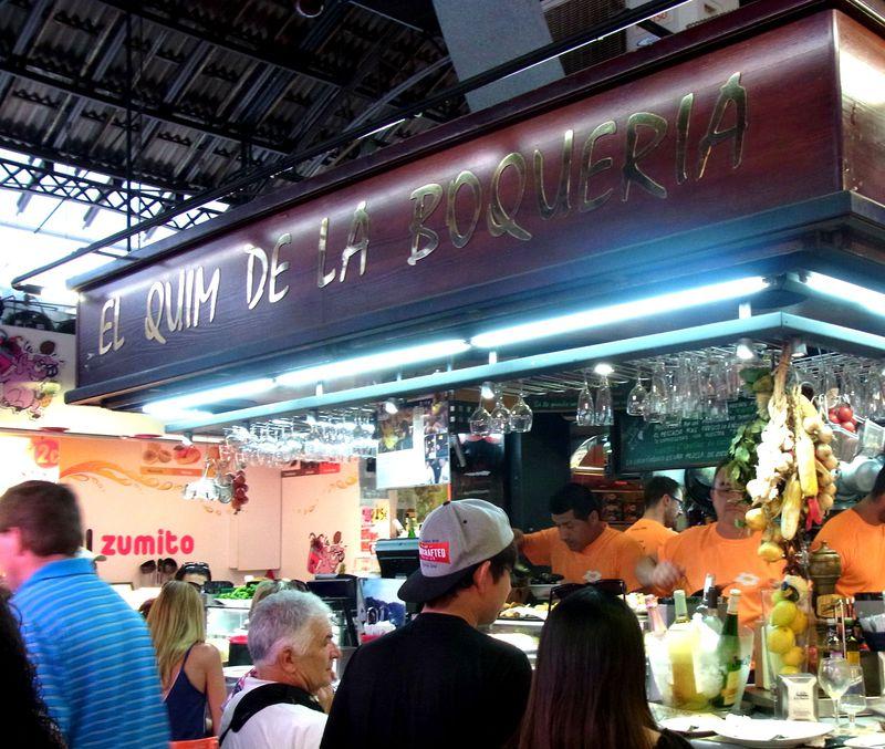 バルセロナのオイシイが大集合!市場バル「エル キン デ ラ ボケリア」