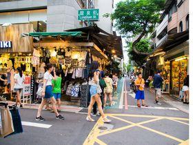 安カワイイお店がズラリ!台北「師太夜市」で流行の服や小物を大人買い