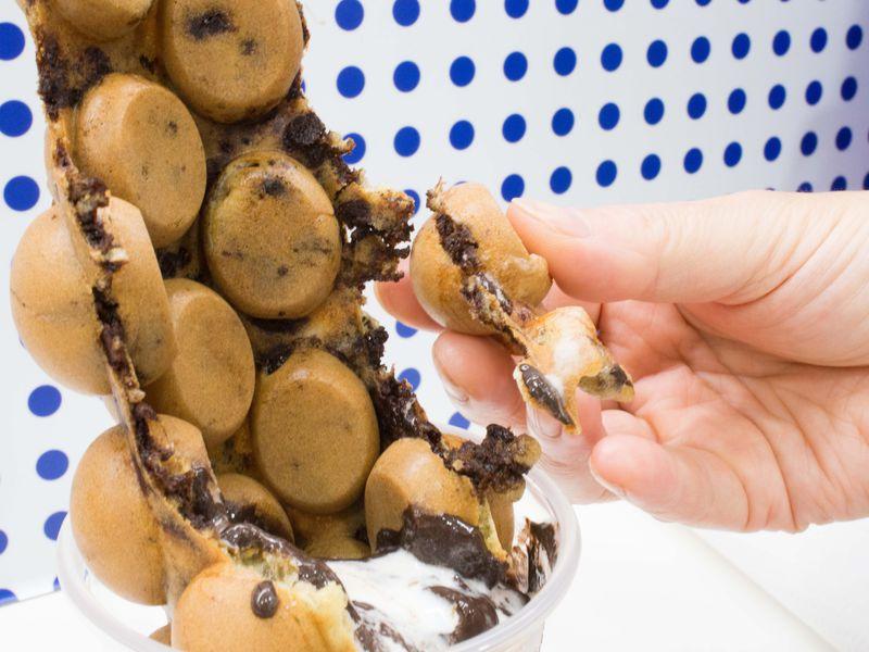 チョコ好き必食!香港「oddies」のエッグワッフルサンデー