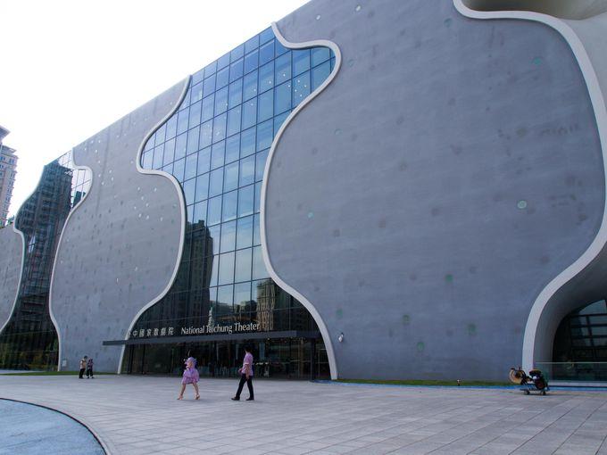 7日目・台中:世界の9大新ランドマーク!日本人設計の台中国家歌劇院へ
