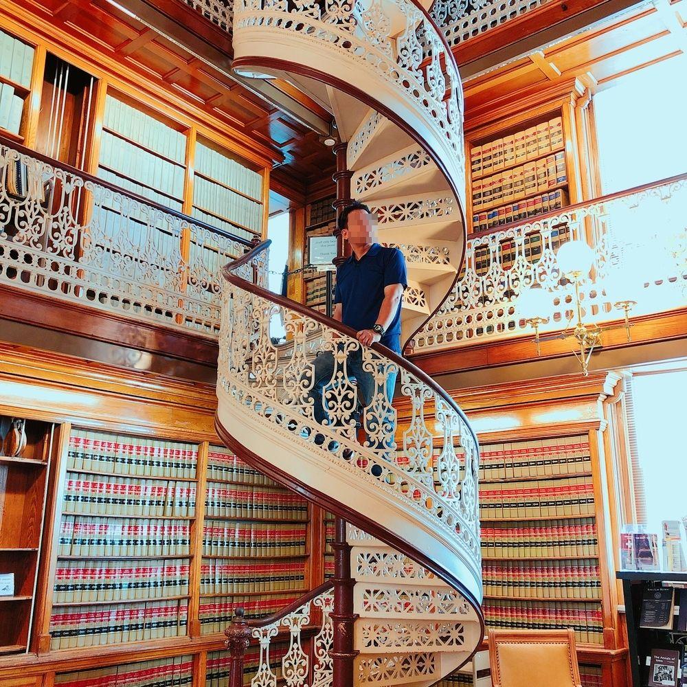 全米屈指の美しい図書館も!アイオワ州会議事堂