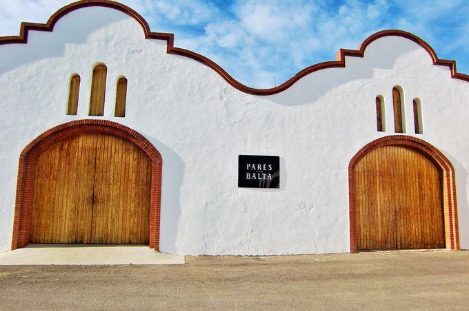 バルセロナ近郊のワイナリー「Pares Balta」