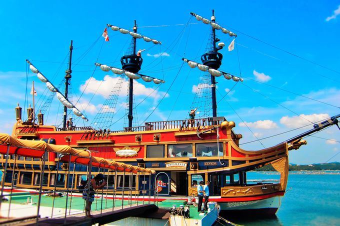 まるで大航海時代!?南スペインのリゾート気分が味わえる遊覧船「賢島エスパーニャクルーズ」