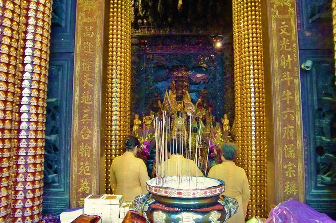 「文昌宮」の参拝方法