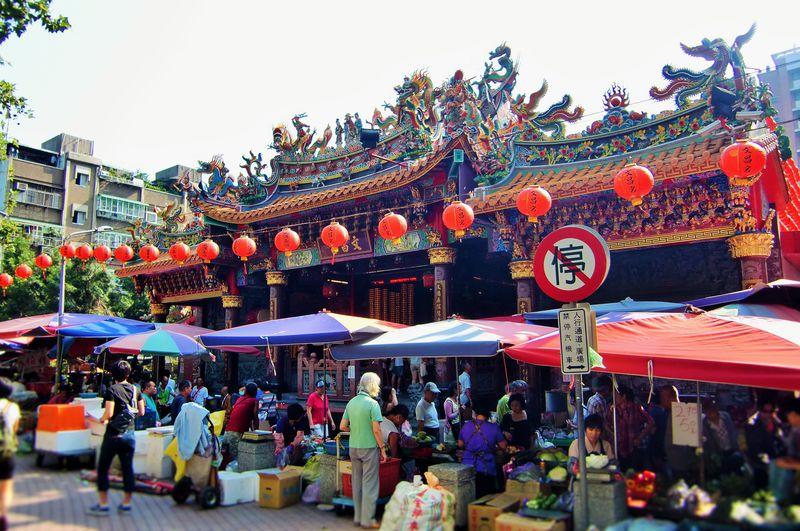 受験生必見!台北の学問神「文昌宮」で合格祈願&雙連朝市