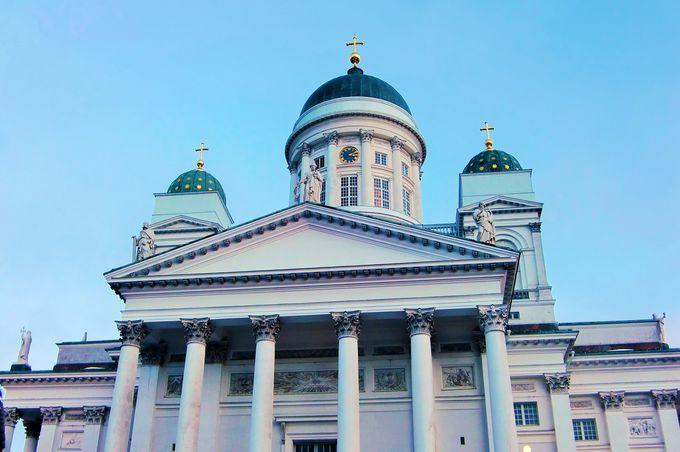 2.ヘルシンキ大聖堂(ヘルシンキ)